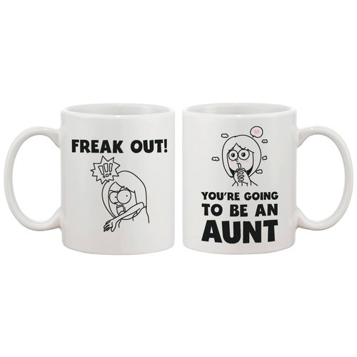 Image of 365 Printing Inc Freak Out Coffee Mug