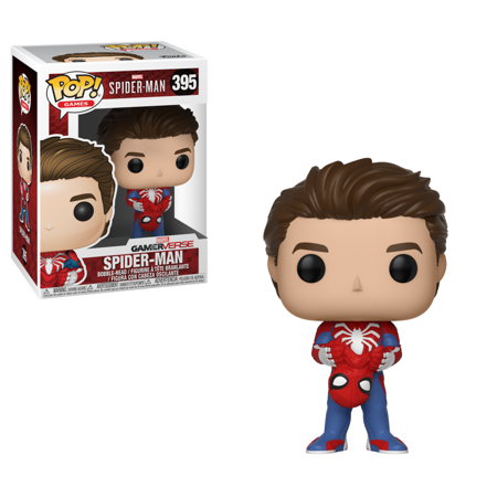 Funko POP Games: Marvel-Spider-ManS1-Unmasked Spider-Man