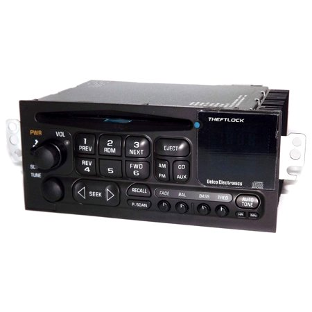 1997-2004 Chevrolet Corvette AM FM Radio CD Player w Bluetooth - 09390211 - UN0 - (2006 Chevrolet Corvette)