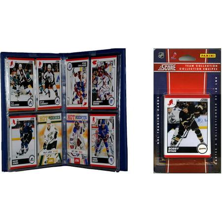 C&I Collectables NHL Anaheim Ducks Licensed 2010 Score Team Set and Storage Album - Anaheim Ducks Store