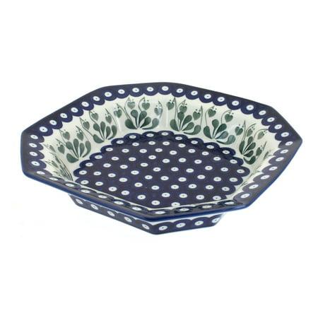 - Polish Pottery Alyce Small Octagonal Dish