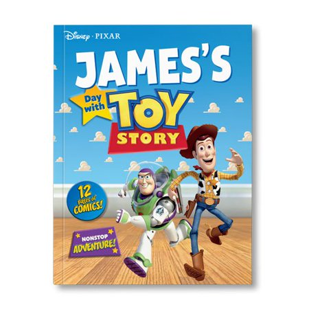 Disney's Your Day with Toy Story - Personalized Book Woody and Buzz Lightyear - Personalized Boots