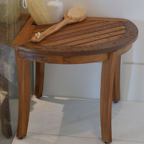 Cambridge Casual Estate Wood Shower Bench