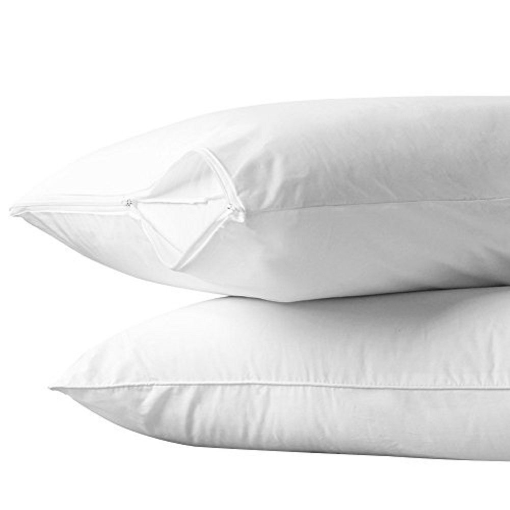 Pillow protectors at home territory for Dust mite allergy pillow cover