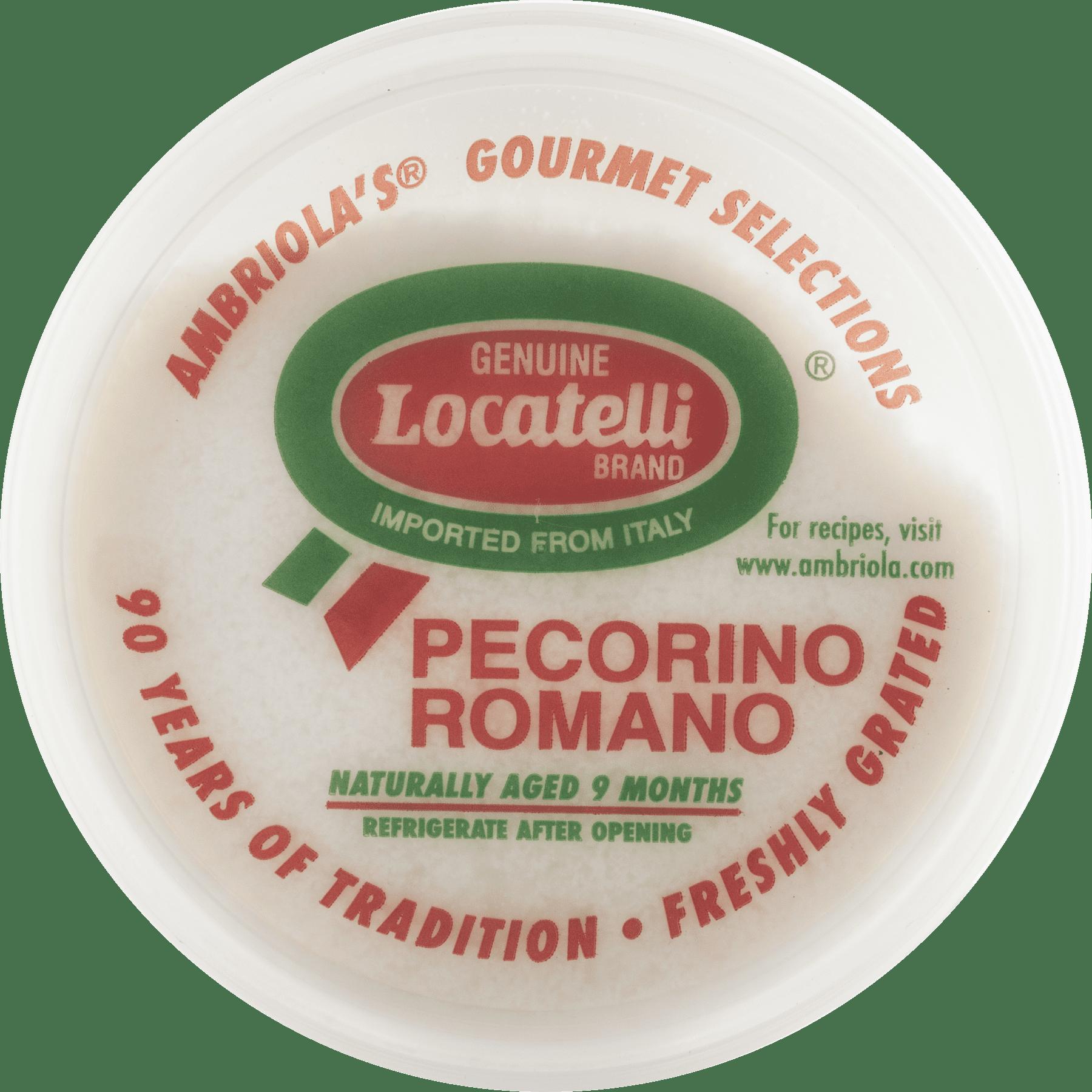 Ambriola Locatelli Grated Cheese 8 Oz Walmart Com