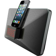 MIG-IP01 Mutant M-Stealth 8-Pin Lightning Speaker Dock with Dual Alarm Clock for Apple iPhone 5S and iPhone 5C