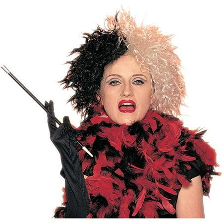 Deluxe Cruella Wicked Lady Wig - Cruella Deville Accessories Pack