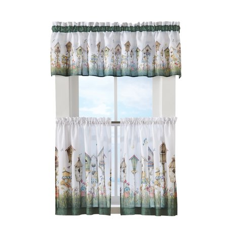 Birdhouse Kitchen Curtains Magnificent Decoration