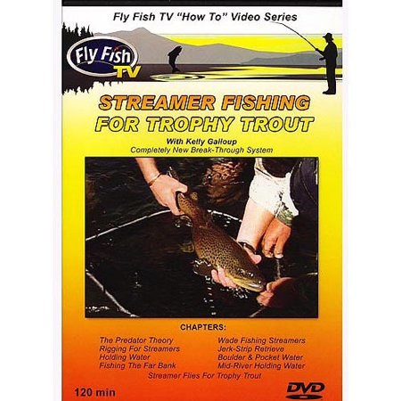 Fly Fish TV: Streamer Fishing For Trophy Trout With Kelly Galloup (Fish Trophy)