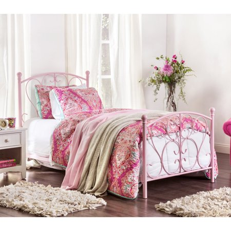 Furniture of America Aniela Scrolled Metal Youth Bed ()