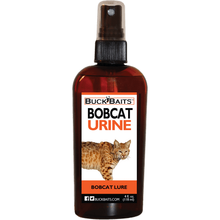 Fox Bobcat Urine (Buck Baits Bobcat Urine 4 oz.)