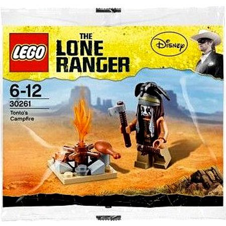 The Lone Ranger Tonto's Campfire Mini Set LEGO 30261 [Bagged]