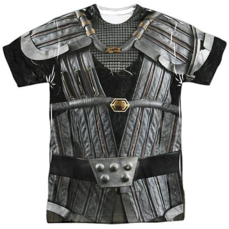 Star Trek Klingon Uniform Mens Sublimation Shirt (Star Trek Uniform Buy)