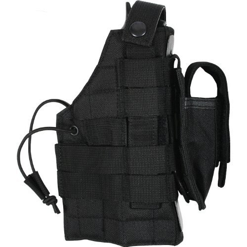 Military Style Tactical MOLLE PALS Compatible Belt Holste...