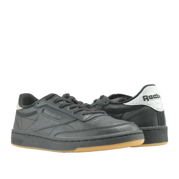 comida Mirar fijamente Masacre  Reebok Classic Club C 85 Diamond Black/Gum Women's Tennis Shoes BD4425 -  Walmart.com - Walmart.com