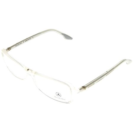95596fd7cdb Mercedes Benz Prescription Eyeglasses Frames Women Ivory MB014 04  Rectangular Size  Lens  Bridge  Temple  55-16-130 - Walmart.com
