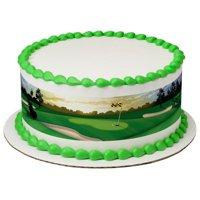 Golf Edible Cake Topper Image Strips