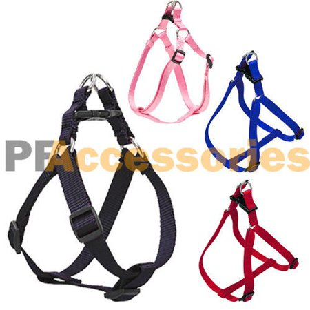 Wideskall® Classic Setp In Pet Walk Nylon Puppy Vest Adjustable Dog Harness, Small, - 3/4 Adjustable Dog Harness