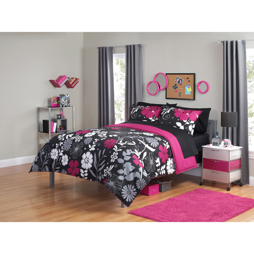 Your Zone Twilight Garden Bedding Comforter Set