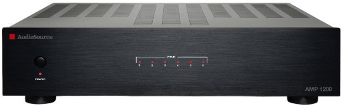 AudioSource AMP1200 Amplifier 40 W RMS 12 Channel 10 Hz to 35 kHz by AudioSource