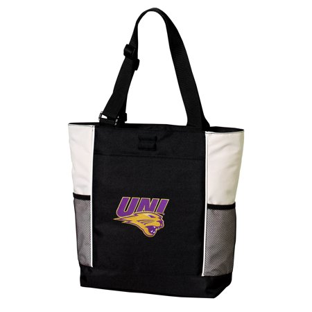 17ecee49c6c Broad Bay - Deluxe University of Northern Iowa Tote Bag Best UNI Panthers  Totes - Walmart.com