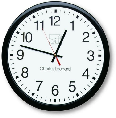 Cli Wall Clock - Analog - Quartz (LEO76820)