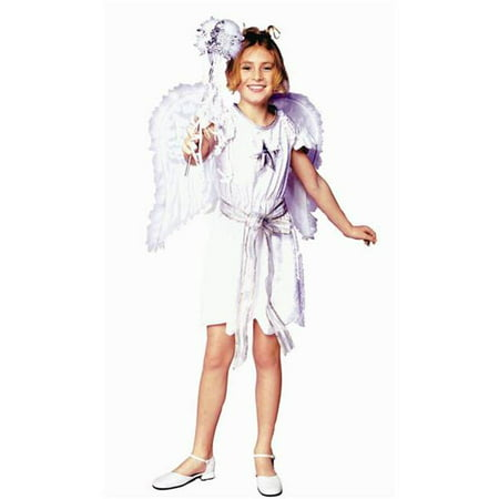 Swan Angel Costume - Dress Only - Size  Child-Medium](Spain Costume)