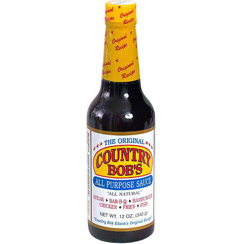 Country Bob's The Original All Purpose Sauce, 13 oz (Pack of 12)