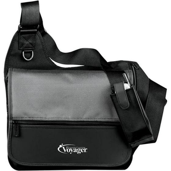 4f72538a7f Leeds 3600-54 MicroTek Messenger Bag - Gray - Walmart.com