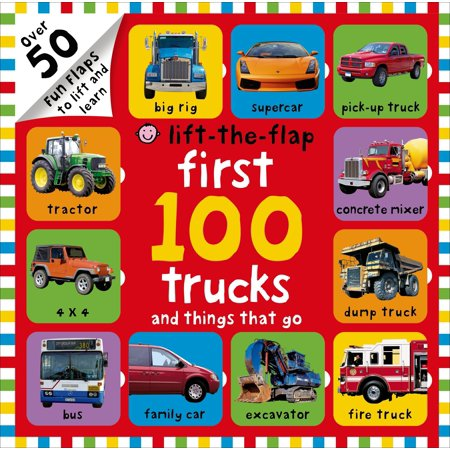 1st 100 Trucks and Things That Go (Board - Things To Go As For Halloween