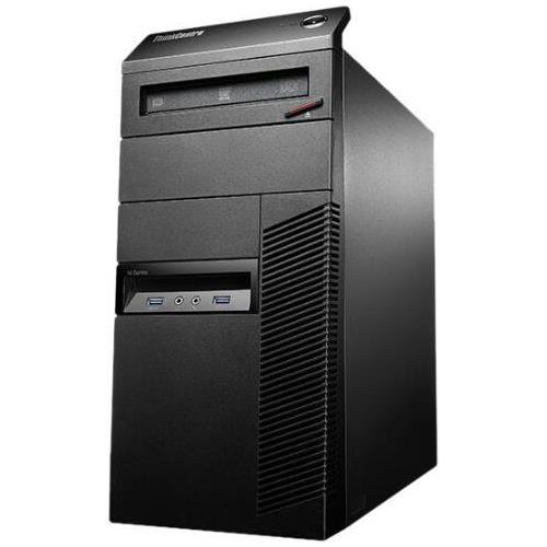 Lenovo Thinkcentre M93p 10a7003qus Desktop Computer - Intel Core I5 I5-4590 3.30 Ghz - Mini-tower - Business Black - 4 Gb Ram - 500 Gb Hdd - Dvd-writer - Intel Hd Graphics 4600 - Windows 8.1 Pro