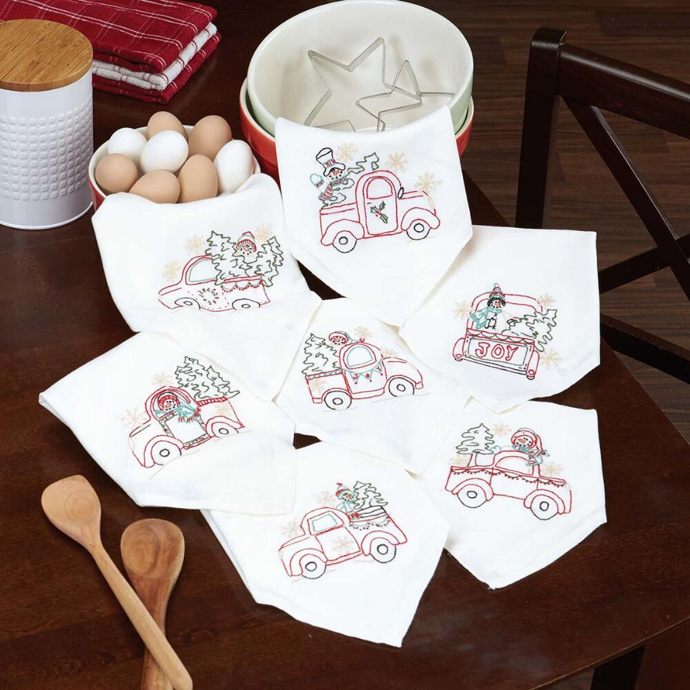 Herrschners® Vintage Farm Gatherings Embroidery Pattern