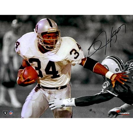 Bo Jackson Oakland Raiders Autographed 11'' x 14'' Spotlight Photograph - Fanatics Authentic Certified Autographed Bo Jackson Photograph