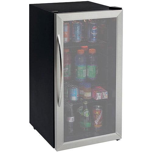 Avanti 3.1 Cu Ft Beverage Cooler, Stainl