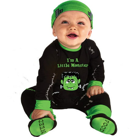 Lil' Monster Infant, baby, Costume, 0-6 months, Halloween (Monster Baby Halloween Costume)