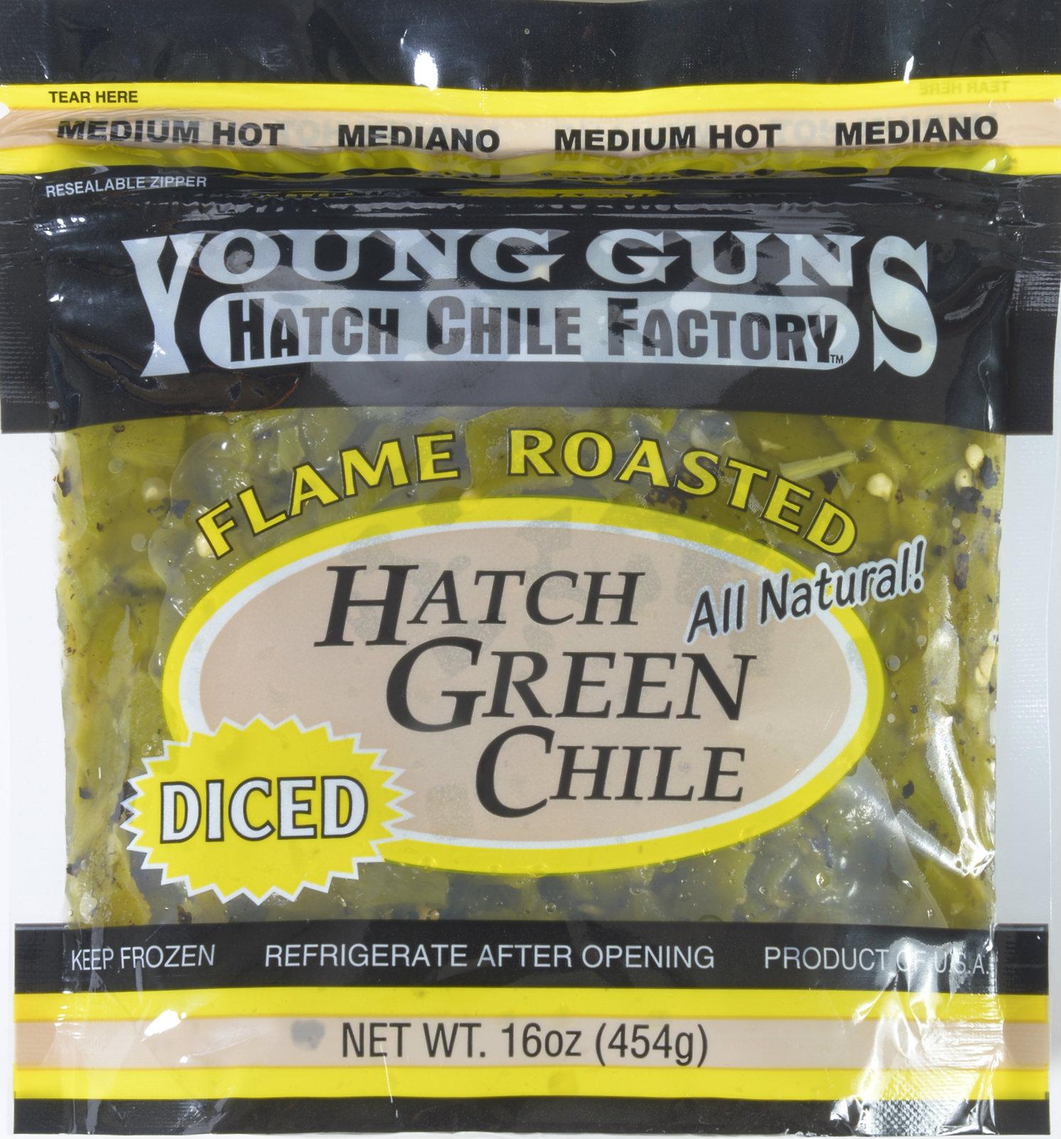 Hatch Green Chile Frozen - Medium Hot