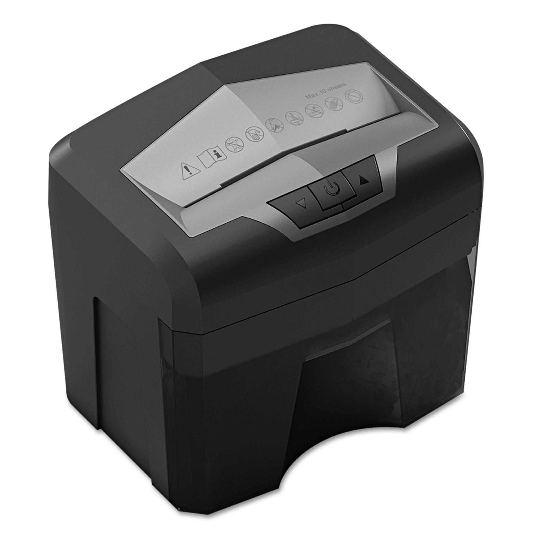 Universal 48100 Light-Duty Cross-Cut Shredder, 10 Sheet Capacity -UNV48100
