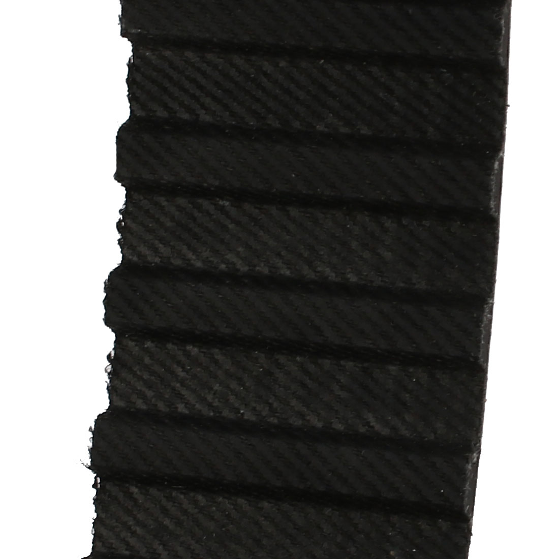 Unique Bargains 259L 69 Teeth 20mm Width 9.525mm Pitch Stepper Motor Rubber Timing Belt Black - image 1 de 3