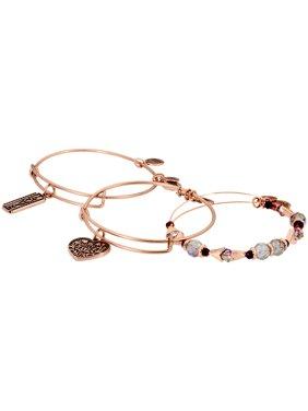 Alex And Ani Love Rose Gold One Size Bracelet A18SETLVRAR