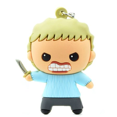 Horror 3D Foam Key Ring Pamela Voorhees Key Ring