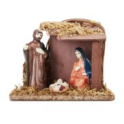 holiday time 4pcs slate full nativity set - Christmas Village Sets Michaels