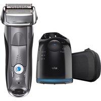 Braun Series 7 7865cc Mens Wet & Dry Electric Shaver Kit Deals