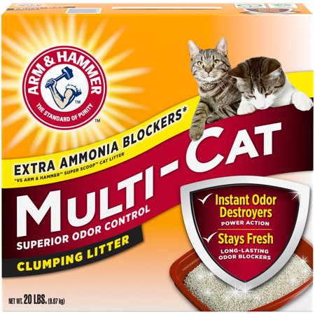 Arm & Hammer Clumping Litter Multi Cat 20lb