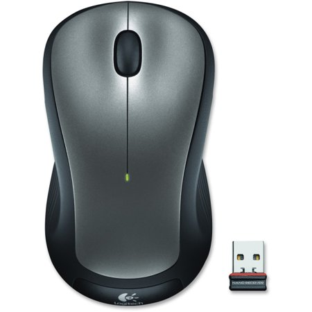 Silver Unique Laser (Logitech M310 Wireless Mouse - Laser - Wireless - Radio Frequency - Silver - USB - 1000 dpi - Computer - Scroll Wheel - 3 Button(s) - Symmetrical)