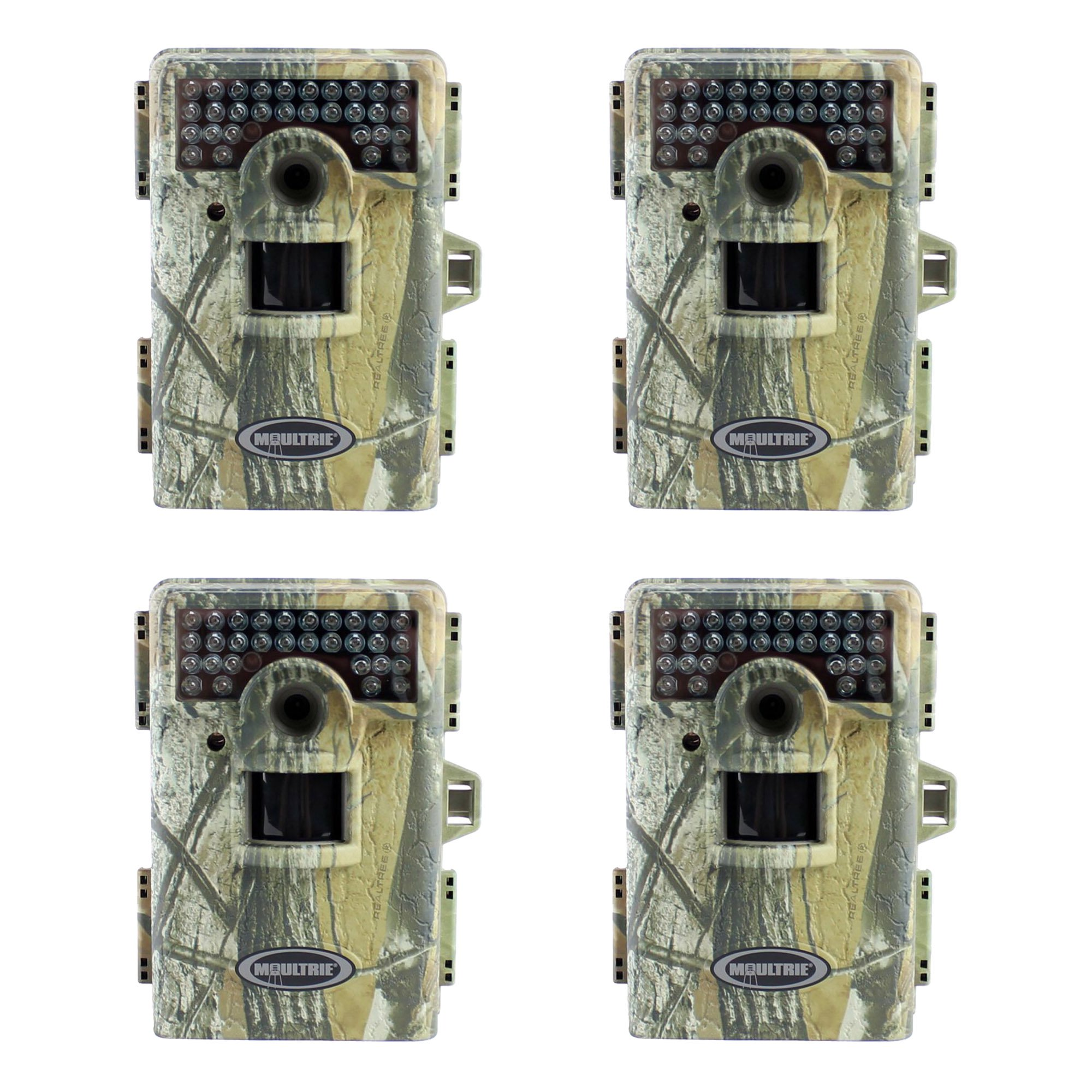 Moultrie Game Spy M100 6MP IR Trail Game Camera, 4 Pack (...