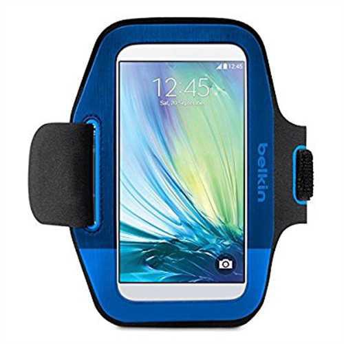 Belkin Sport-Fit Armband for Samsung Galaxy S6, Blueprint/Maroon