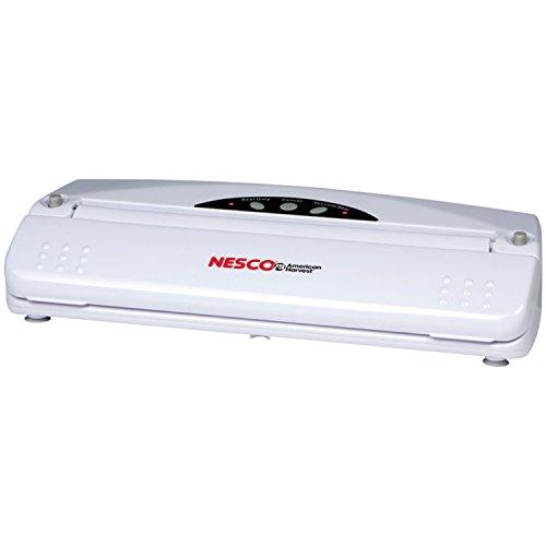 Click here to buy Nesco VS-01 Food Vacuum Sealer, White by Nesco.