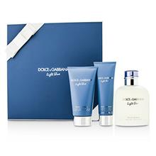 Dolce & Gabbana Homme Light Blue Coffret: Edt Spray 125ml/4.2oz + After Shave Balm 75ml/2.5oz + Shower Gel 50ml/1.6o For