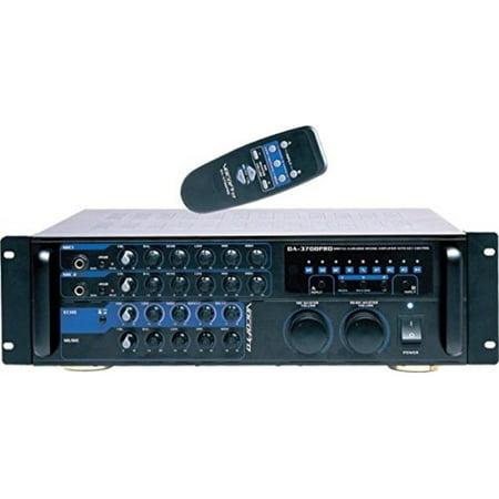 VocoPro DA-3700-BT 200W Digital Key Control Mixing Amplifier with Bluetooth