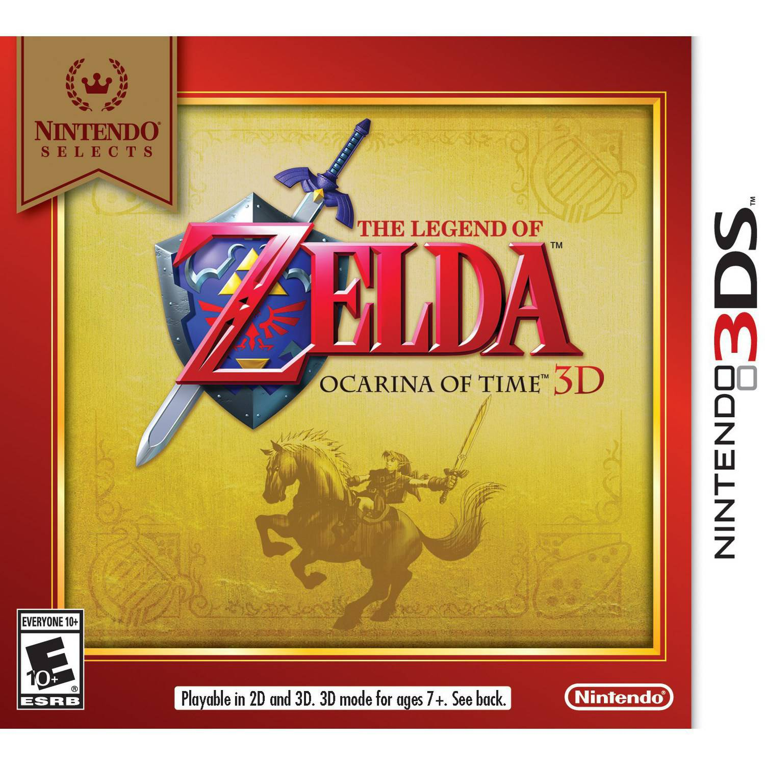 Legend of Zelda Ocarina 3 - Nintendo Selects (Nintendo 3DS)